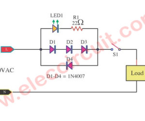 LED Indicator for Remote AC Loads
