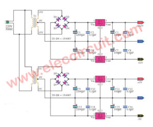 3 Multi voltage power supply circuits