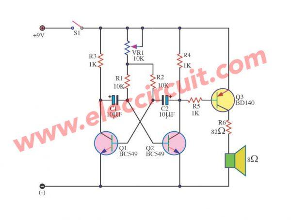 Simple Metronome circuit