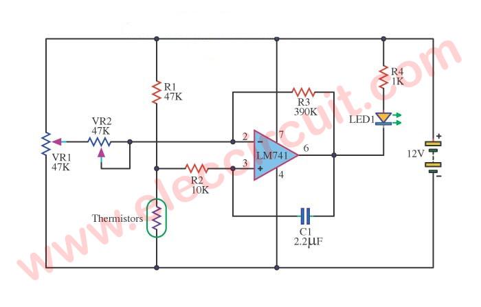 ic 741 \u2013 electronics projects circuits