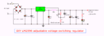 DIY LM2596 Adjustable Voltage Switching Regulator