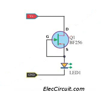 FET Current Source for LED display
