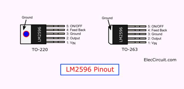 LM2596 Pinout