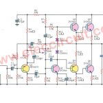 3 Simple/ 50W-OTL Audio Power Amplifier Circuits  using 2N3055