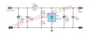 Quality Shunt Regulator Circuit Using TL431