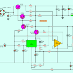0-30V 0-5A regulated variable power supply circuit