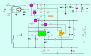 0-30V 5A power supply circuit digagram
