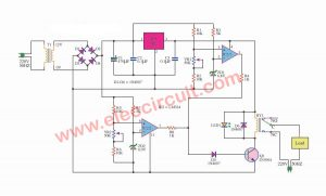 over and under voltage protection circuit