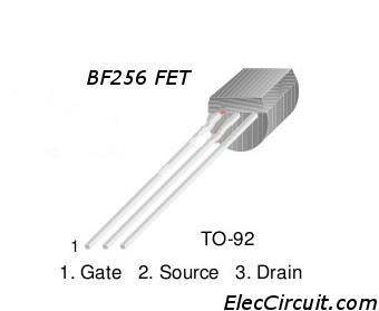 BF256 pinout