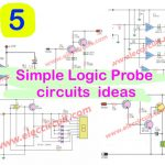 6 Simple Logic Probe circuits  ideas