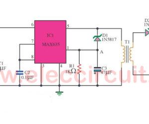 5V to isolated 5V at 20mA converter using MAX635