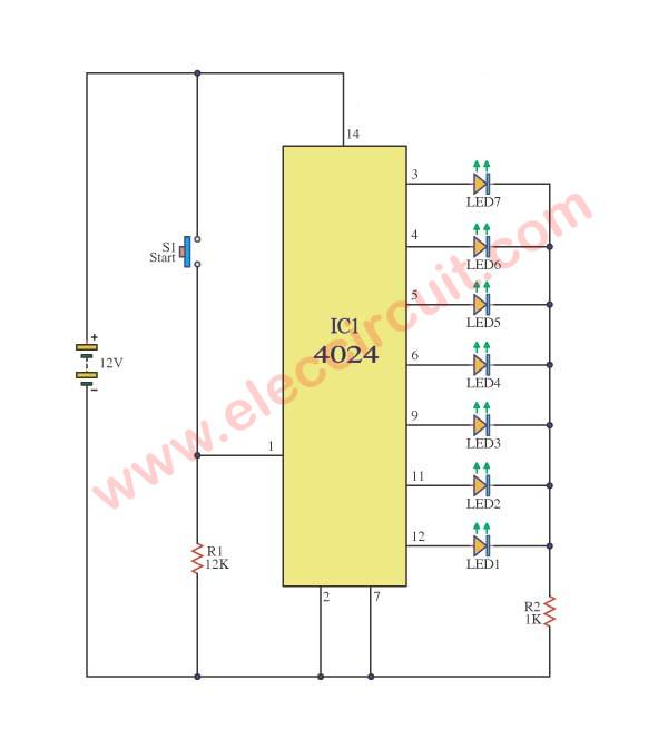 13 Small digital circuit ideas for beginner | ElecCircuit com