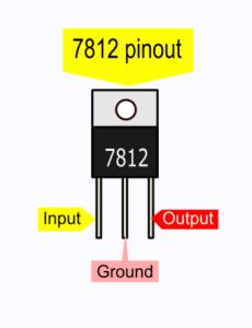 7812 pinout