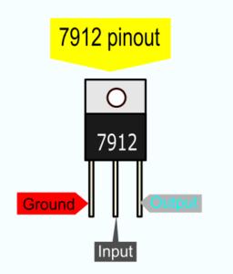7912 pinout