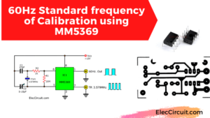60Hz Standard frequency of Calibration using MM5369