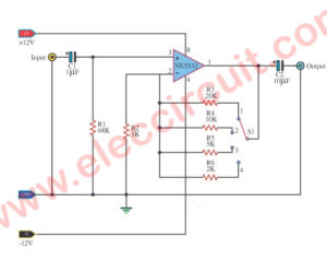Universal Preamplifiers using – NE5532 – LM382 – 741