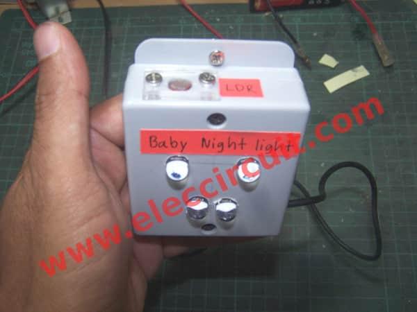 Night light using arduino - Prototype Of Simple Baby Automatic Night Light