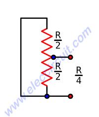 Simple resistive load