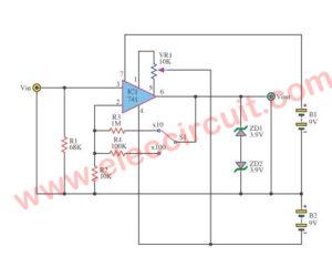 Analog to digital Amplifier