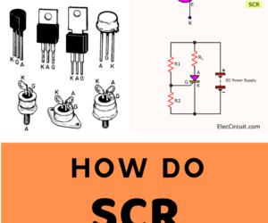 How do SCR works and basic circuits