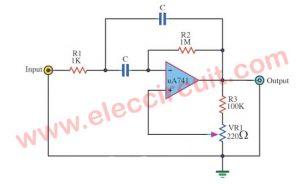 Musical Chime Generator Using UA741 oscillator