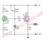 Ramp  Generator circuit using  2N4891 FET