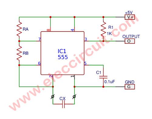 Enjoyable Digital Capacitance Tester Circuit Controlcircuit Circuit Diagram Wiring 101 Xrenketaxxcnl