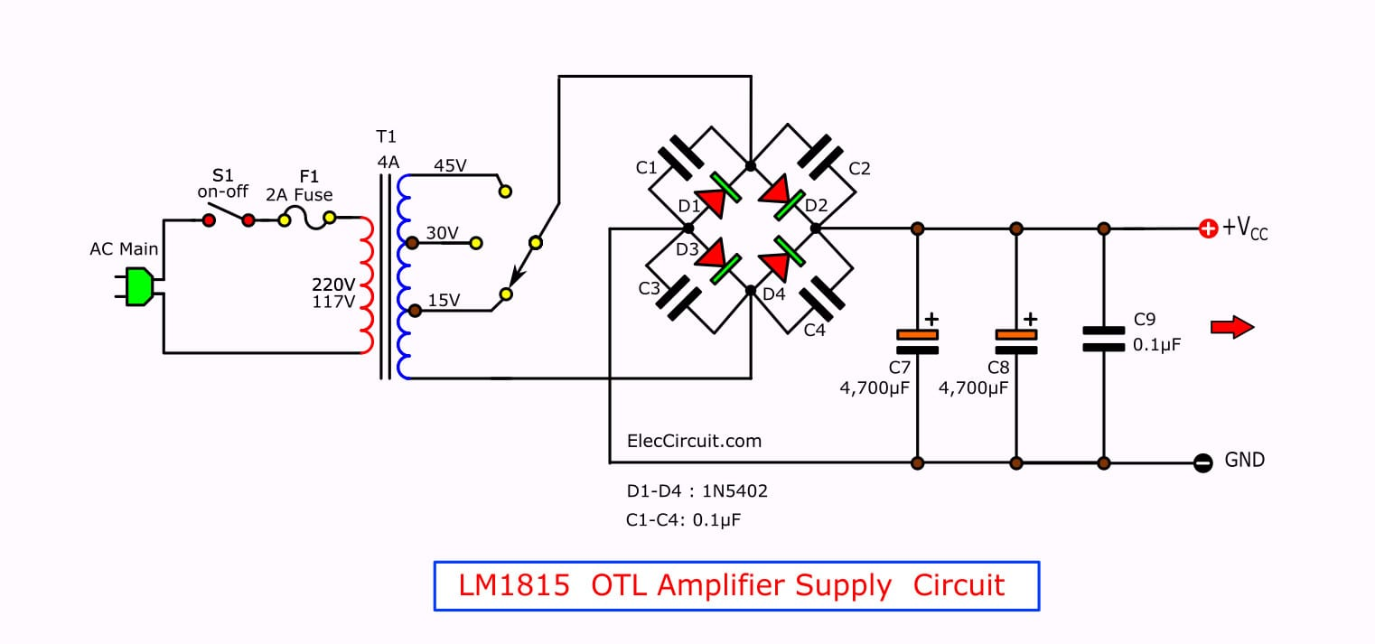LM1875 Datasheet - 25W HIFi audio amplifier circuit