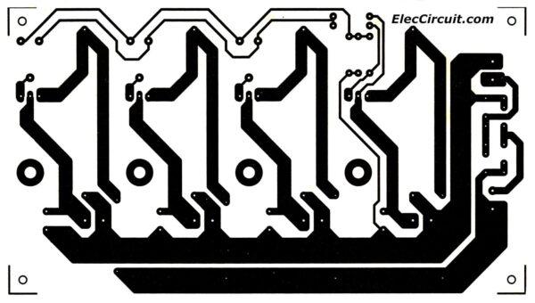 PCB layout Ham radio power supply