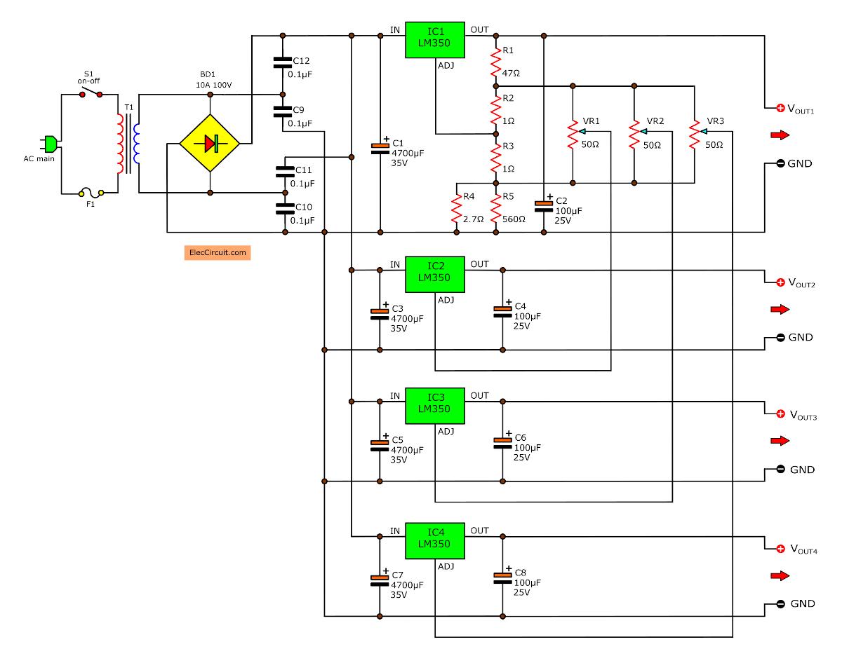 Ham Radio Pre Amp Schematic Diagram on