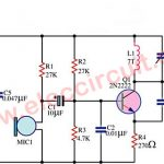 FM wireless transmitter circuit