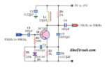frequency divider using transistor