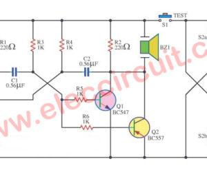 Quality transistor  checker with buzzer