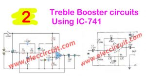 2-Treble-Booster-circuits-using-IC-741