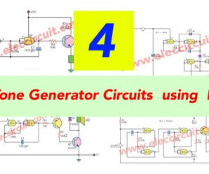 4 Gate Tone Generator Circuits  using  IC-4011