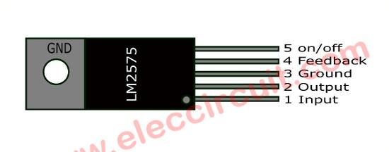 LM2575-Pins