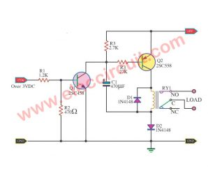 Boost up voltage for The Relay using BC558