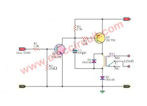 How to boost up voltage for low voltage Relay