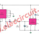 Cheap siren with nand gate IC