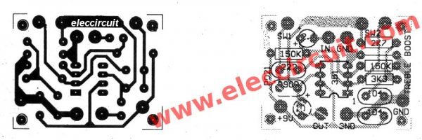 PCB layout and components layout