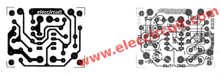Treble Booster Circuit