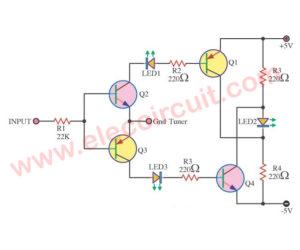 LED FM Tuning Indicator