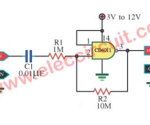 Linear x10 Amplifier by 4011 Gate