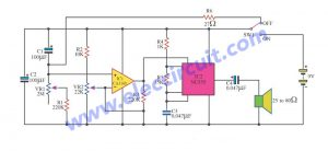 Simple Timer circuit using CA3140 + NE555