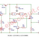 simple astable multivibrator circuit using cd4047 cmos Ramp Generator Circuit Sound Effects Generator Circuit Diagram