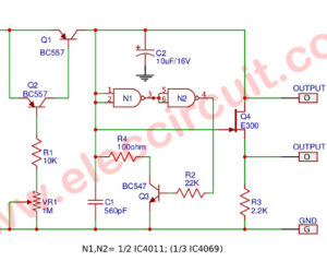 Current-controlled Sawtooth Generator Circuit