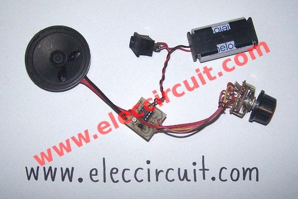 UM3561 Sound effect generator