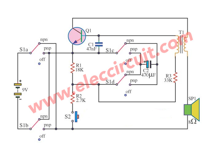 transistor tester circuit eleccircuit com rh eleccircuit com Simple Transistor Tester Circuit Transistor Tester Fluke