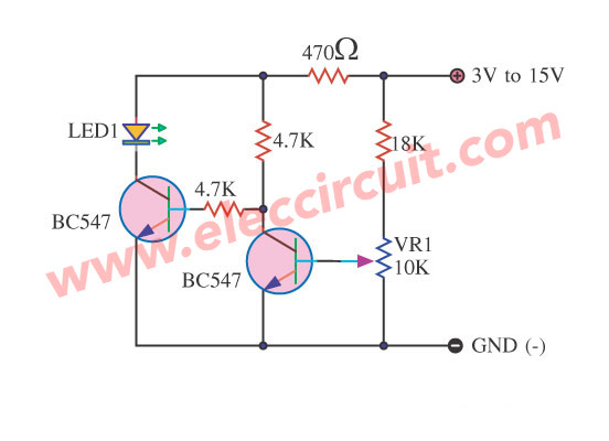 Simple Battery Low Voltage Alarm Indicator Circuits