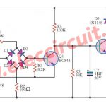 Simple Telephone repeater circuit